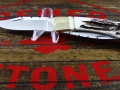 110 Stag Ivory Double Blade file work - 7