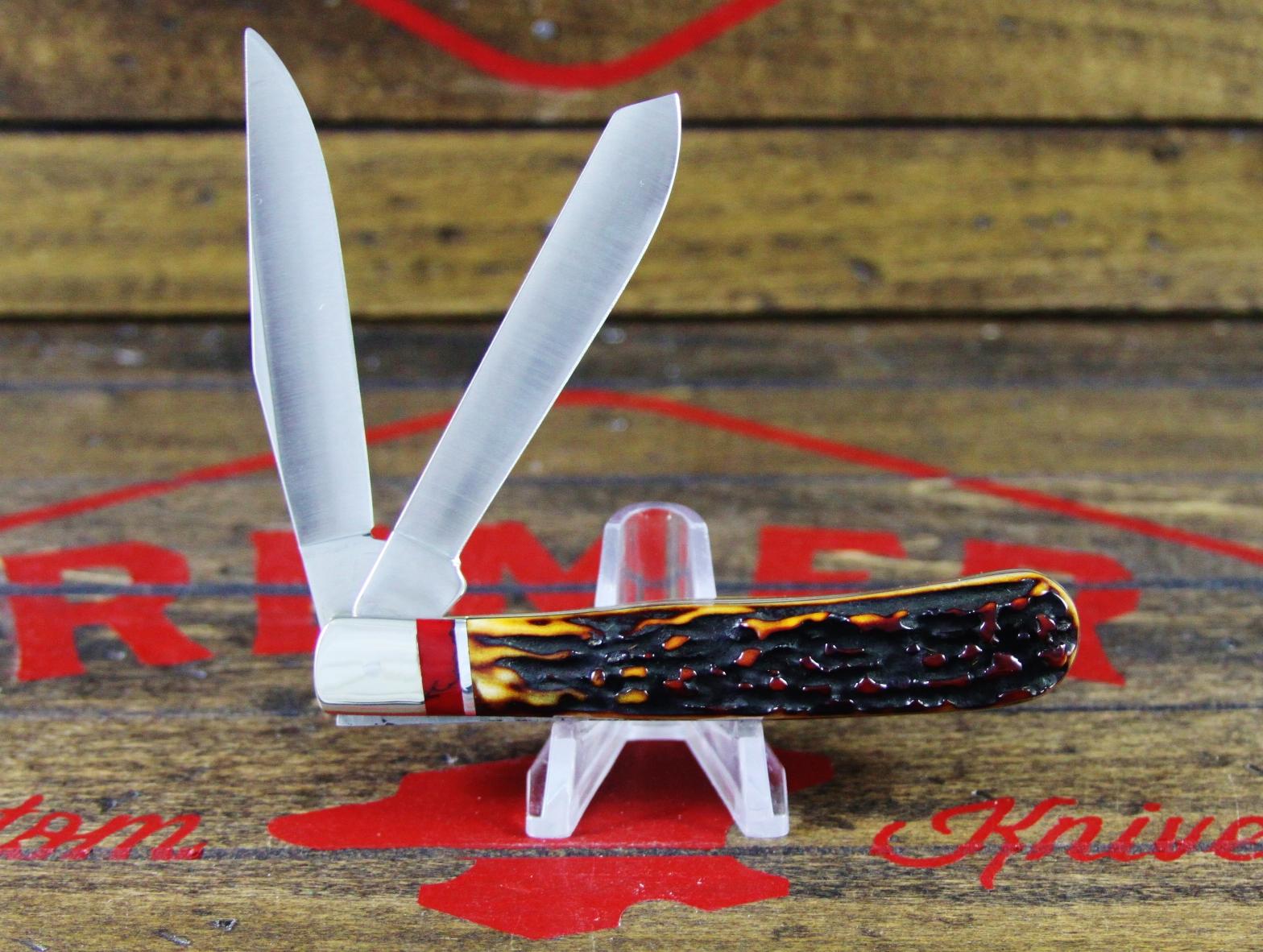314 Amber Stag Bloody Jasper - 3