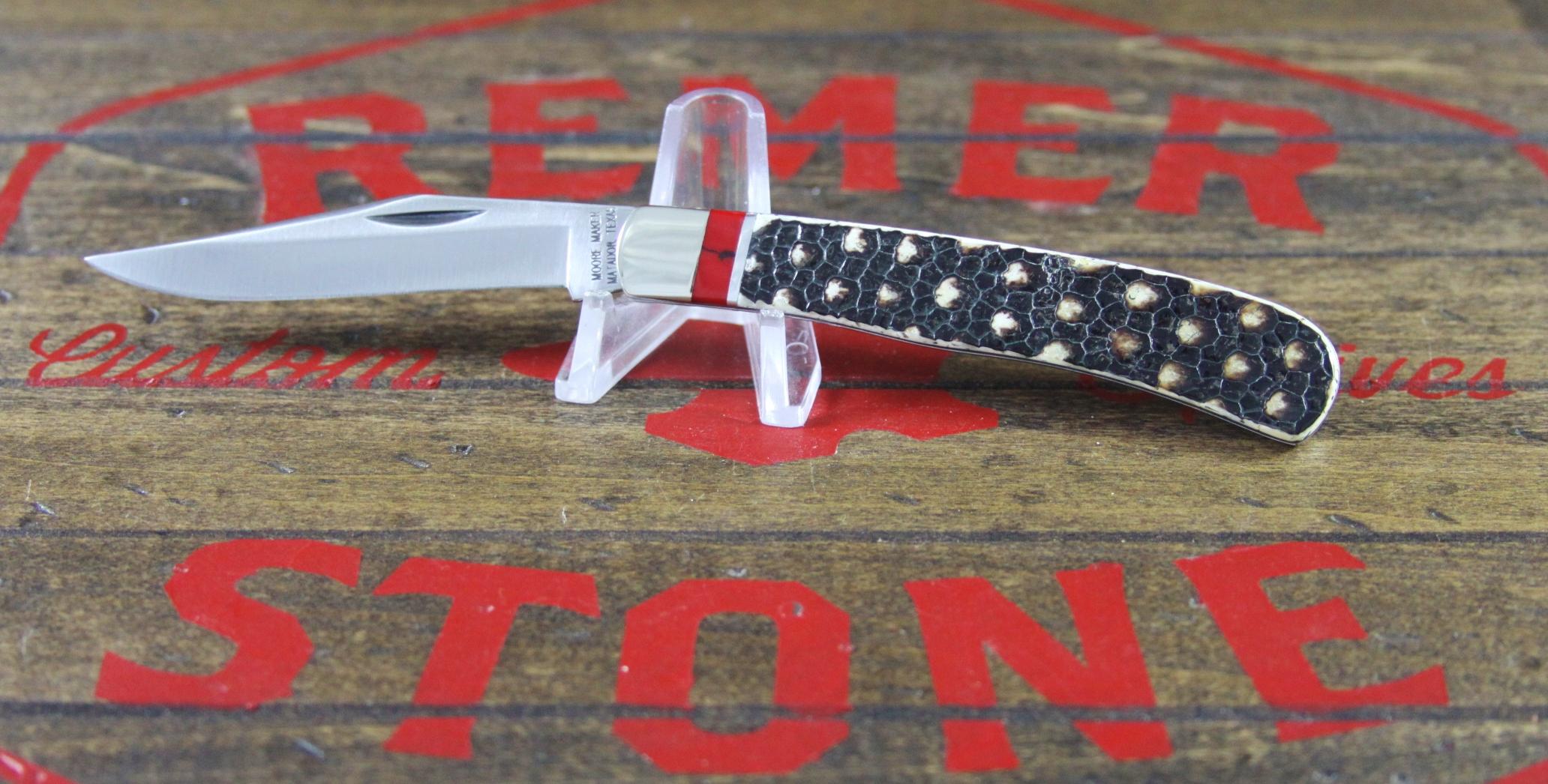 Moore Maker 3202B Trapper Armadillo Dots Bloody Jasper - 2