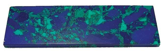 Natural Azurite with Malachite